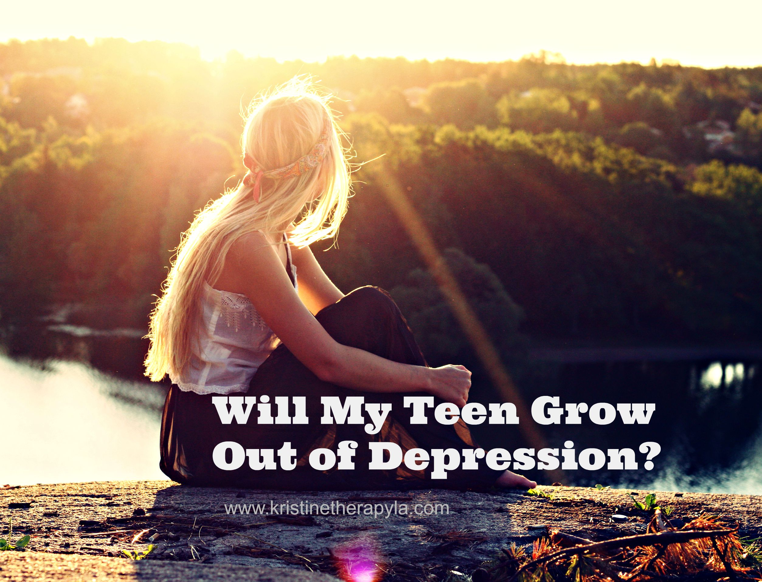 teen grow out of depression