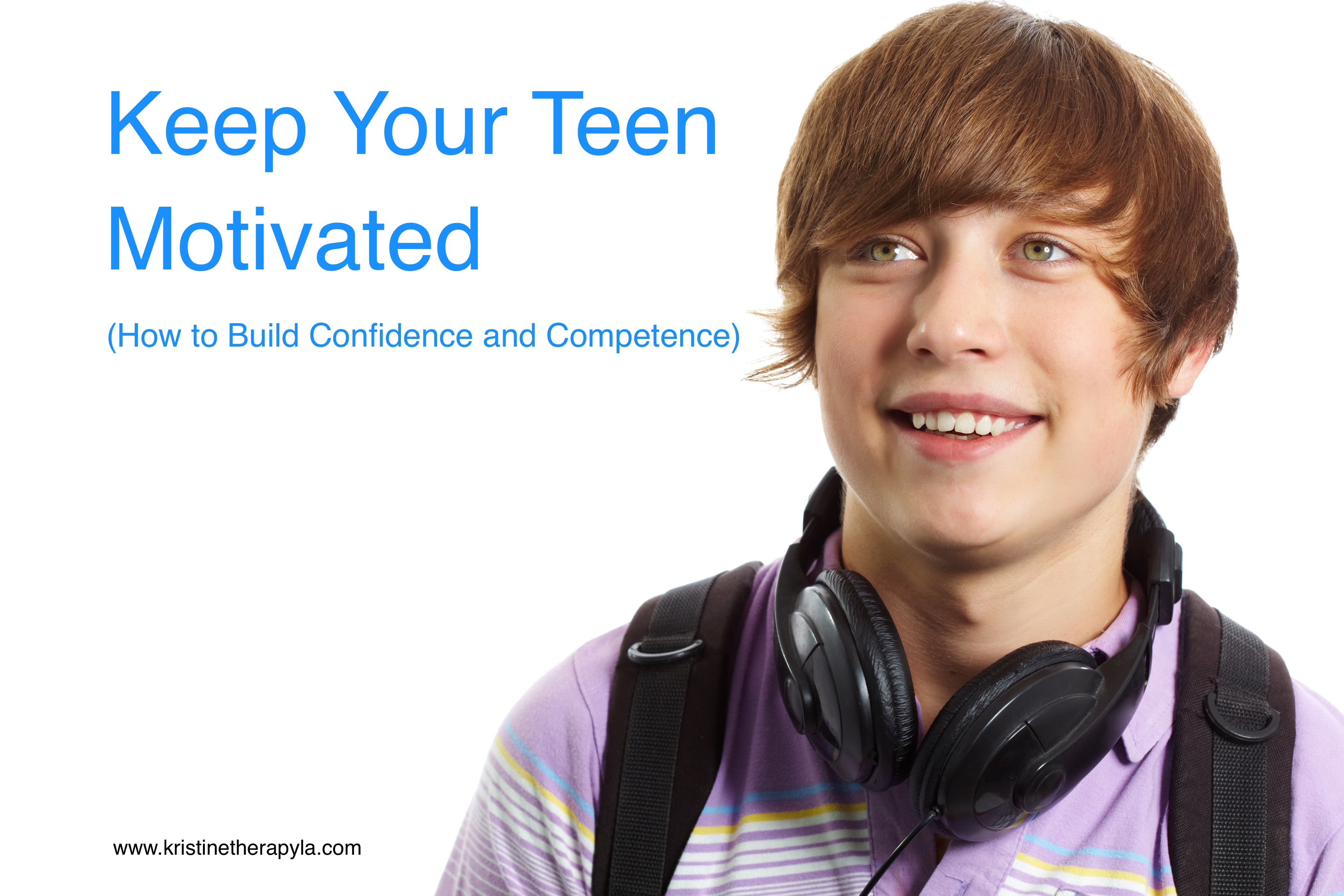 competence confidence teen motivated