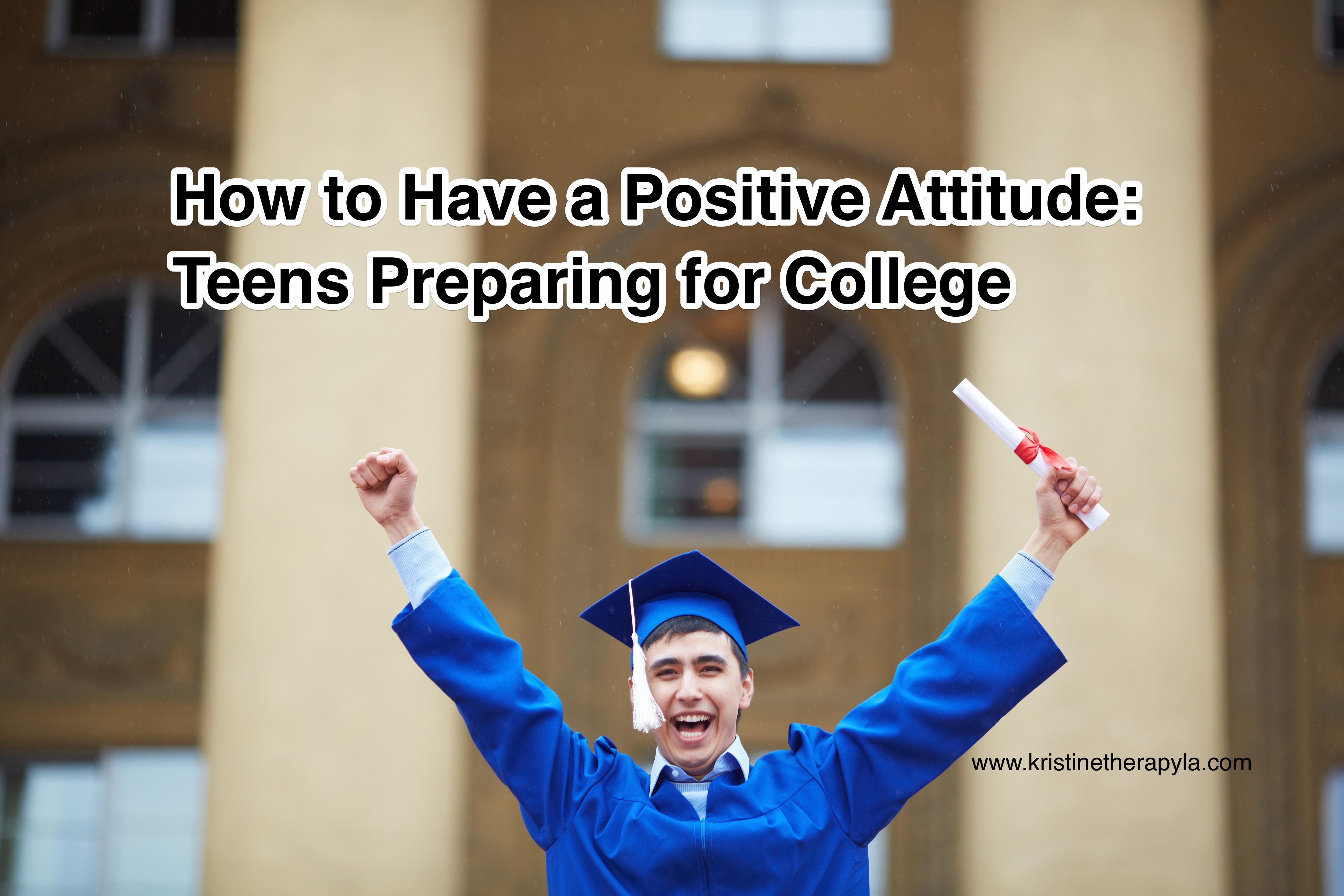 Positive attitude college