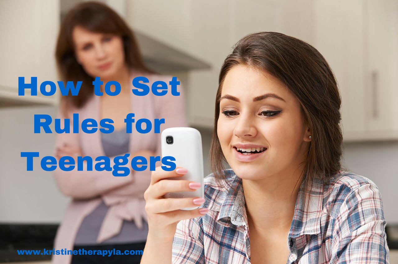 How to Set Rules for Teenagers