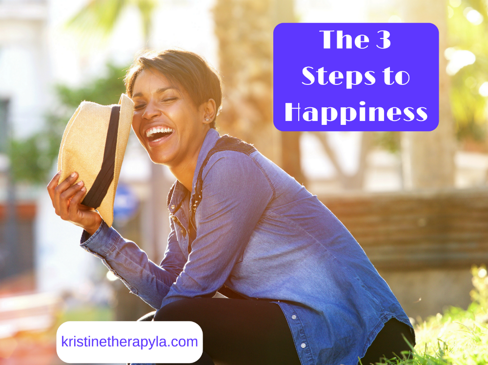 three steps to happiness