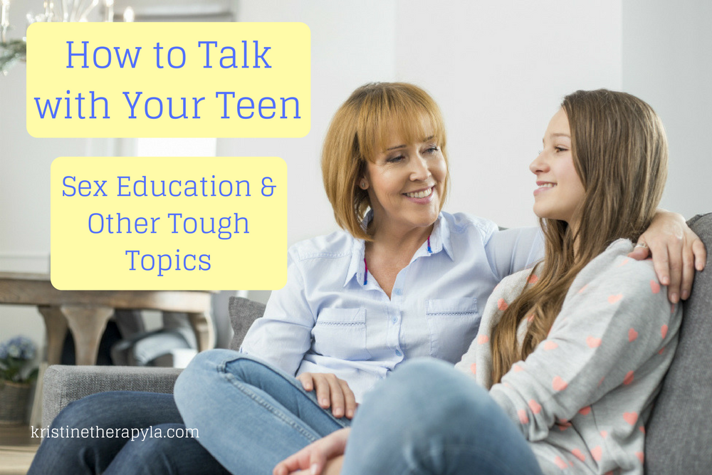 talk with teen sex education