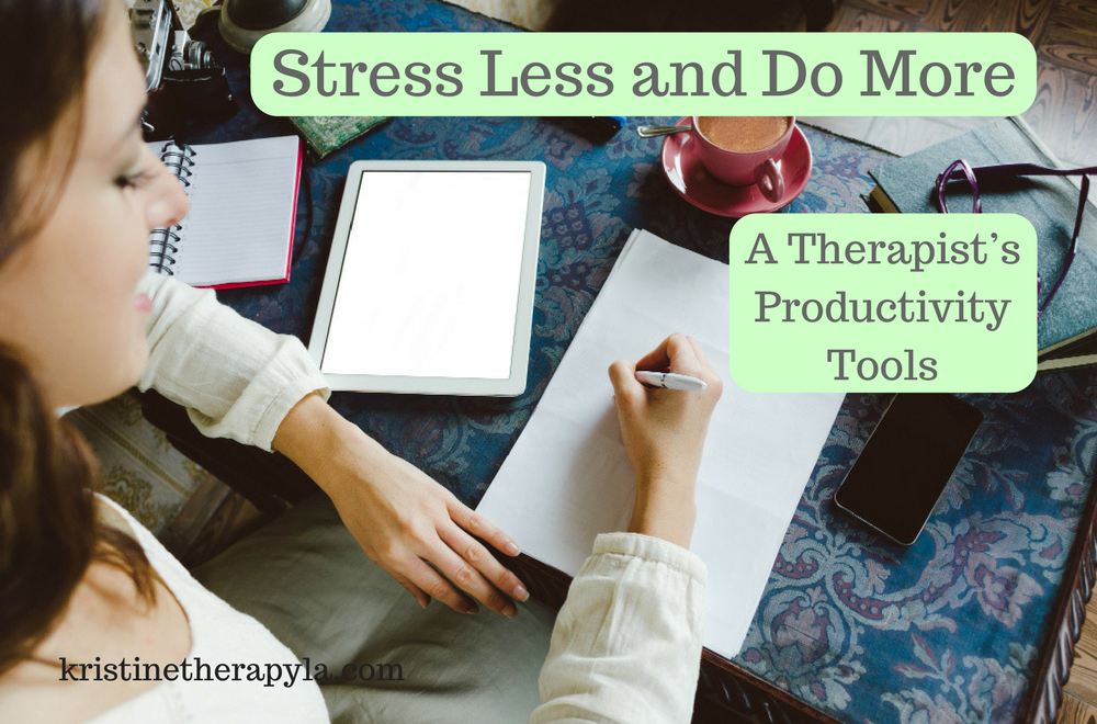 Productivity Stress Less and Do More
