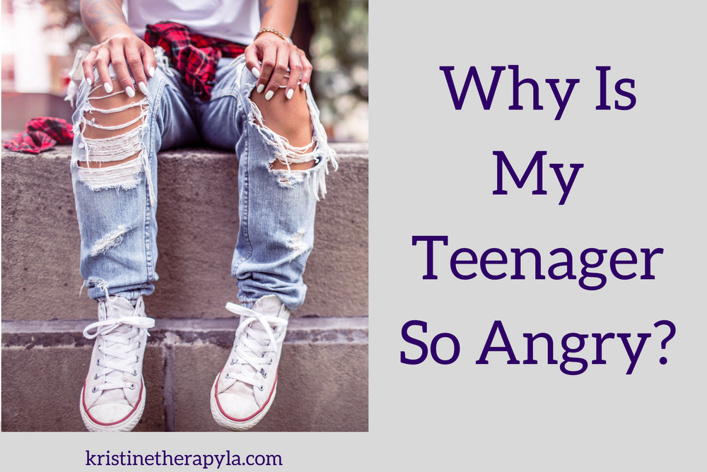 Why Is My Teenager So Angry